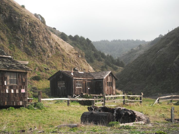 Shingled cabins near Lost Coast of California. Submitted by Cameron Afzal.