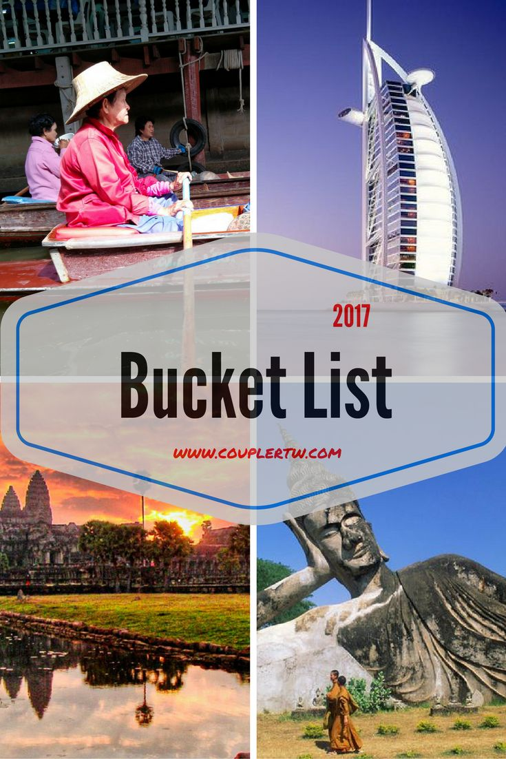 This year we will go further and beyond in a one way ticket to a travel bucket list and the beginning of a new expat project in a new region!