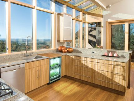 Nice kitchen with Urban Cultivator