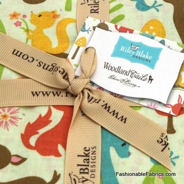 Fabric... Woodland Tails Charm Pack by Sherri Berry