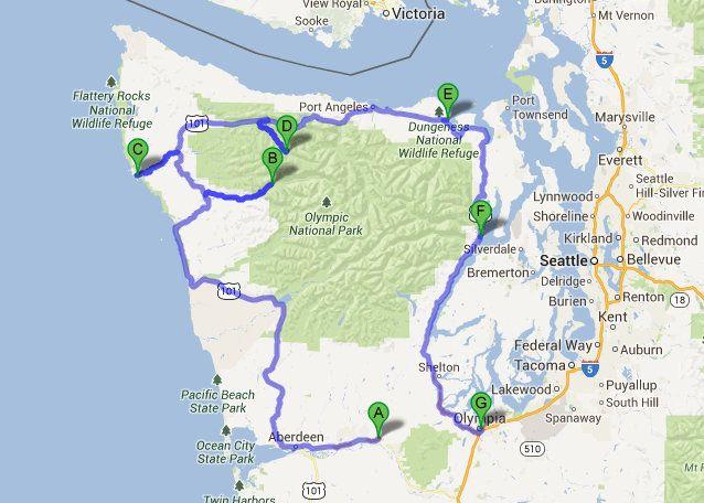 Home Olympic Peninsula Forks Washington Road Trip