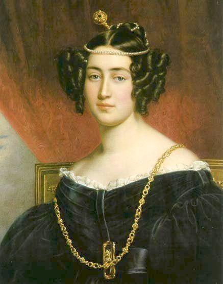 1834 Irene Pallavicini by Joseph Karl Stieler (Schonheitengallerie, Schloss Nymphenburg, München Germany)