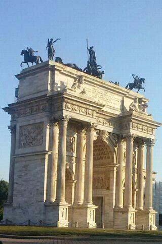 Arco della Pace, Milano