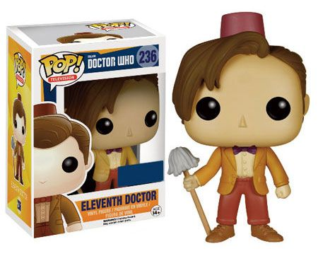 Doctor Who Pop! Funko 11th Doctor With Fez (UK)