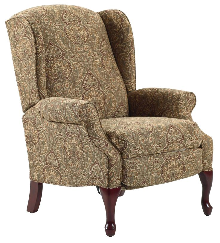Recliners Hampton Traditional High Leg Recliner In Wing
