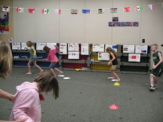 Music Olympics great ends of the year activity! So going to have to do this!