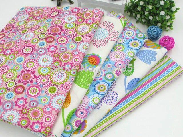 Nieuwe 40 cm * 50 cm kleurrijke zomer stijl katoen voor naaien, patchwork, woondecoratie, kussens, kussens en quilten ambachten in  Materiaal:100 % katoenTechnologie: twill( dichte, zachte, glad, is een high- dichtheid stof)Grootte:40cm* 50cm/st van Stof op AliExpress.com | Alibaba Groep