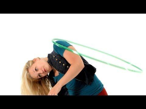 How to Hula Hoop on One Shoulder   Hula Hooping - YouTube