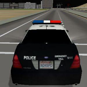 Simulator 3D masini de politie