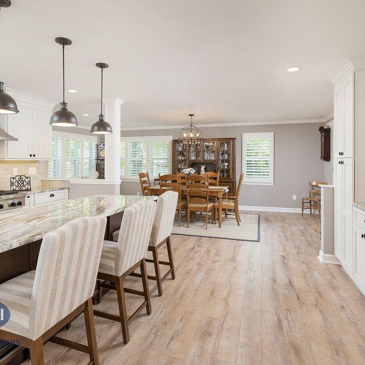White Kitchen Renovation: White Kitchen Remodel With Fabuwood Cabinets #whitekitchen