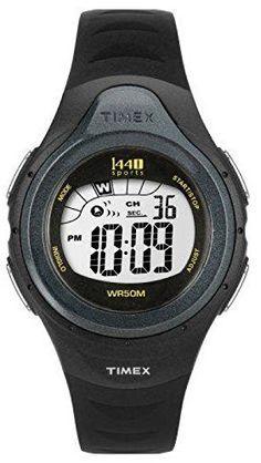 Timex Watch Woman Sports Ladies Black Digital Alarm Chronograph T5K242 Resin Band  #Alarm #band #Black #Chronograph #Digital #Ladies' #Resin #Sports #T5K242 #Timex® #Watch #Woman MonitorWatches.com