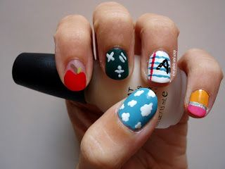 love, photo and scrap: a year with nail art - #9 settembre