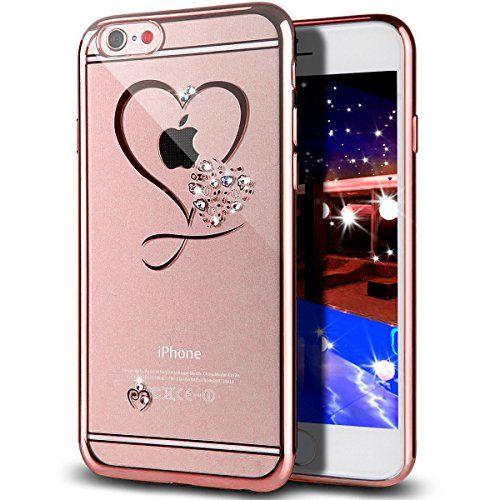 iPhone SE Case,iPhone 5S Case,NSSTAR Mini Love Heart Glit ...