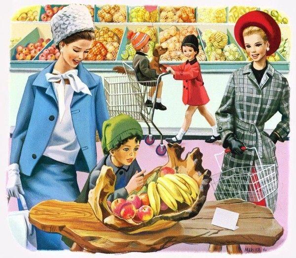 Martine fait ses courses, mon préféré !