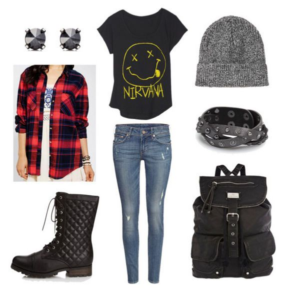 Easy Outfit Formulas: Plaid Shirt + Blue Jeans | College Fashion
