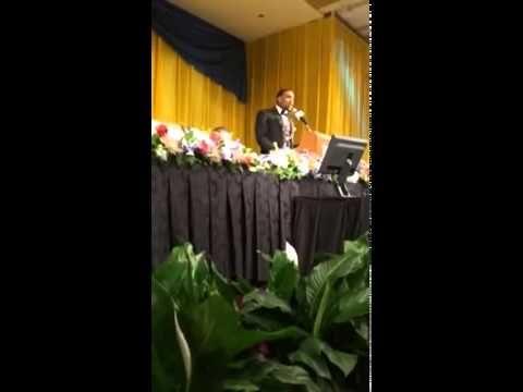 A beautiful speech by Rasheed Bailey '15 after receiving his award from the Maxwell Football Club. Congratulations, Rasheed!