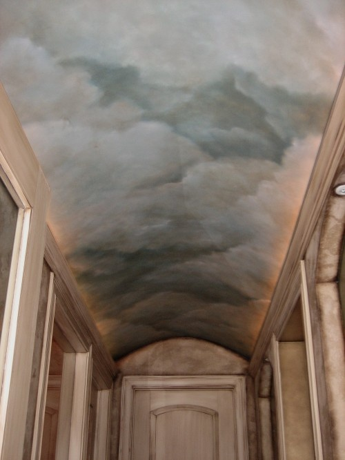 1000 ideas about cloud ceiling on pinterest ceiling for Ceiling mural in a smoker s lounge