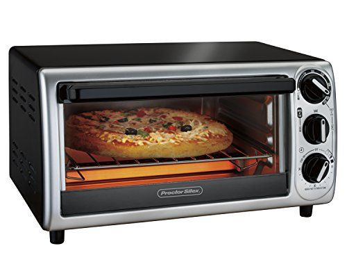 So many cooking options in so little space never looked this good. With sleek curved front and a sophisticated silver finish, the Proctor Silex Modern Toaster Oven is the perfect kitchen counter mainstay that can handle all your toasting and small batch cooking needs. A fraction of the size of a... - http://kitchen-dining.bestselleroutlet.net/product-review-for-proctor-silex-31122-modern-toaster-oven-black/