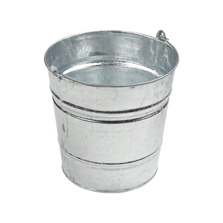 Classic Galvanised Bucket #bucket #outdoor #indoor