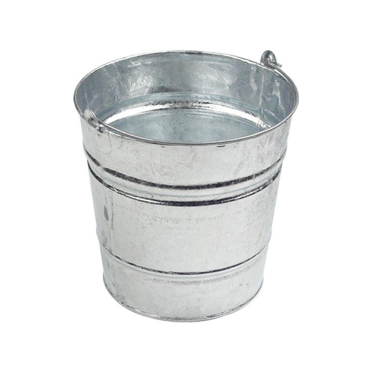 Classic Galvanised Bucket #bucket #outdoor #indoor