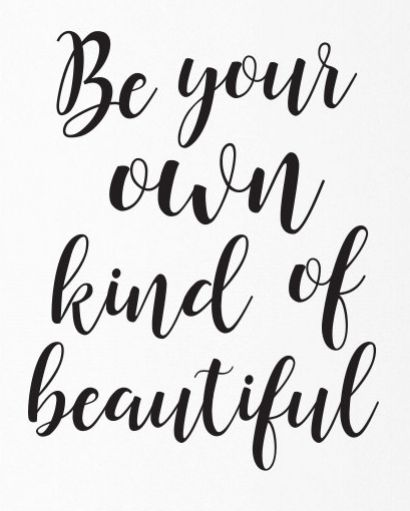 17 Inspiring Wonderful Black And White Contemporary: Be Your Own Kind Of Beautiful. Really Want To Get A