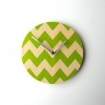 Objectify Chevron wall clock at qwerkyhome.co.nz