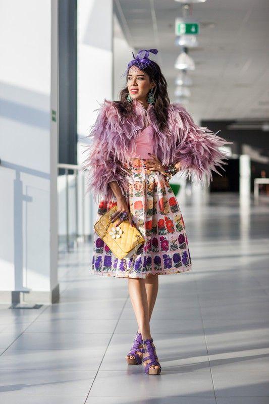 Street fashion: Fashion Week Poland wiosna-lato 2015, Macademian Girl, fot.Szymon Brzóska/East News