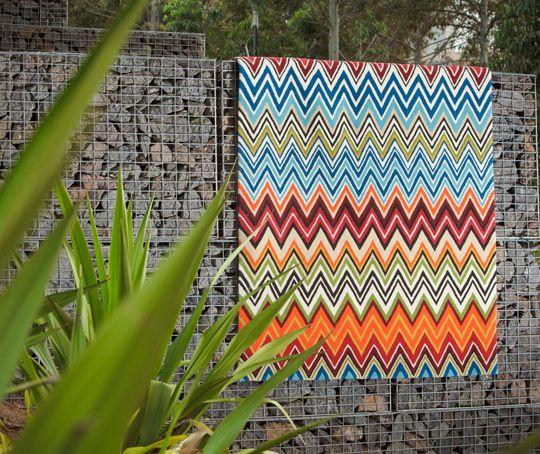 Zigzag bright colours are HUGE