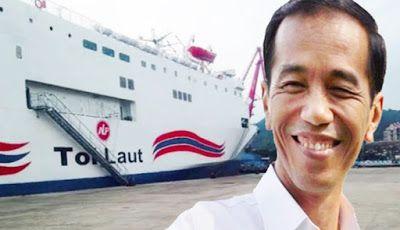 Trending post one: Tol Laut Jokowi Bukan Dongeng Atau Hisapan jempol ...  Ketika banyak orang meragukan rencana proyek Tol Laut Presiden Joko Widodo untuk mendorong kemajuan dari sektor ekonomi dan infrastruktur. Menteri Koordinator (Menko) bidang Kemaritiman Dan Sumber Daya, Rizal Ramli, menegaskan bahwa masyarakat perlu sedikit bersabar untuk melihat efektivitas dari program tersebut. Menko Maritim dan Sumber daya Rizal Ramli menyatakan