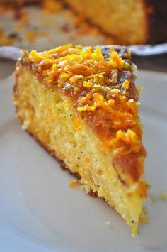 Portakal soslu kek