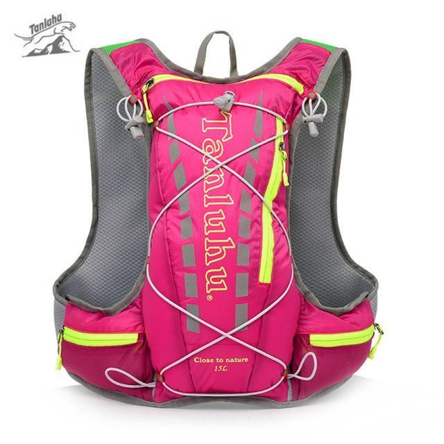 8c85f56e88 TRIWONDER 15L Hydration Pack Ultra Trail Running Vest Marathon Backpack  with Hydration Bladder Sports & Fitness