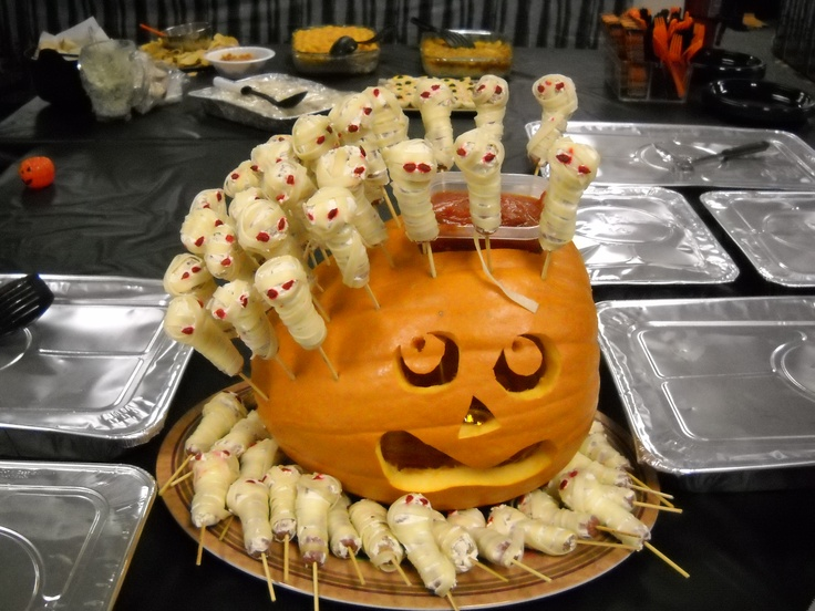 made by one of the co workers for last yearu0027s halloween party the mummies were