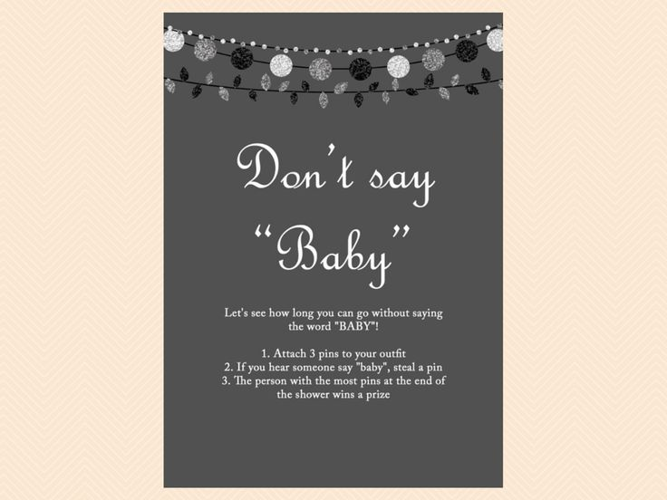 Modern Baby Shower Game Pack, Baby Shower Game Printables, Gender Neutral Baby Shower Games Printables, Rustic Baby Shower TLC28
