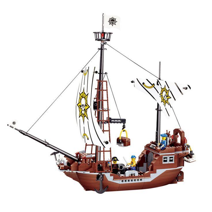 Jiestar мститель пират месть развертки пират здание блоки устанавливает Minifigure дети подарок образование игрушки , совместимые с лего