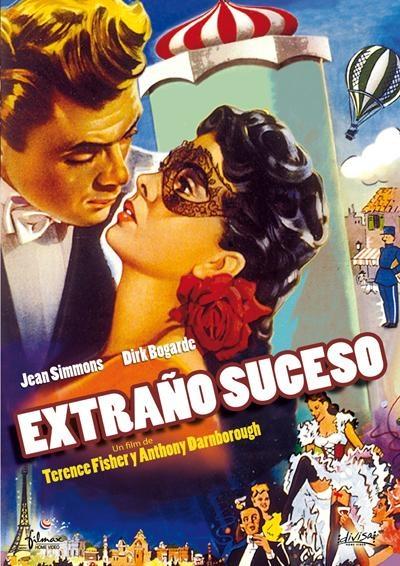 El extraño suceso (1950) Reino Unido. Dirs: Terence Fisher y Antony Darnborough. Suspense. Romance. S.XIX - DVD CINE 570
