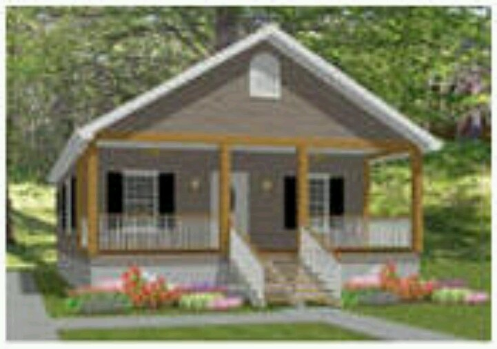 Small house with front porch home organization for Front look of small house