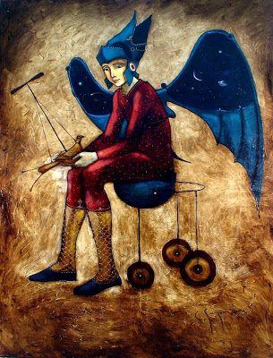 Pintores Cubanos Contemporáneos: La obra de Carlos Manuel Guzmán Hernández