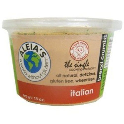 Aleia's Gluten Free Foods Bread Curmbs, Italian, Gf, 13-Ounce (Pack of 4) -- Continue to the product at the image link.