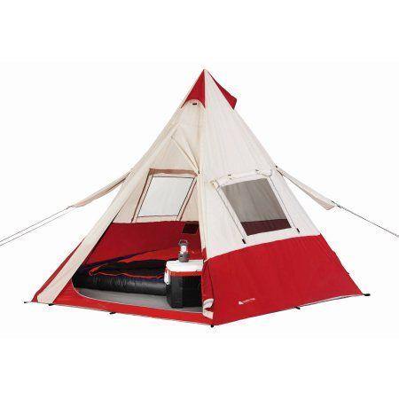 "Free 2-day shipping. Buy Ozark Trail 11'8"" x 11'8"" Teepee Tent, Sleeps 7 at Walmart.com"