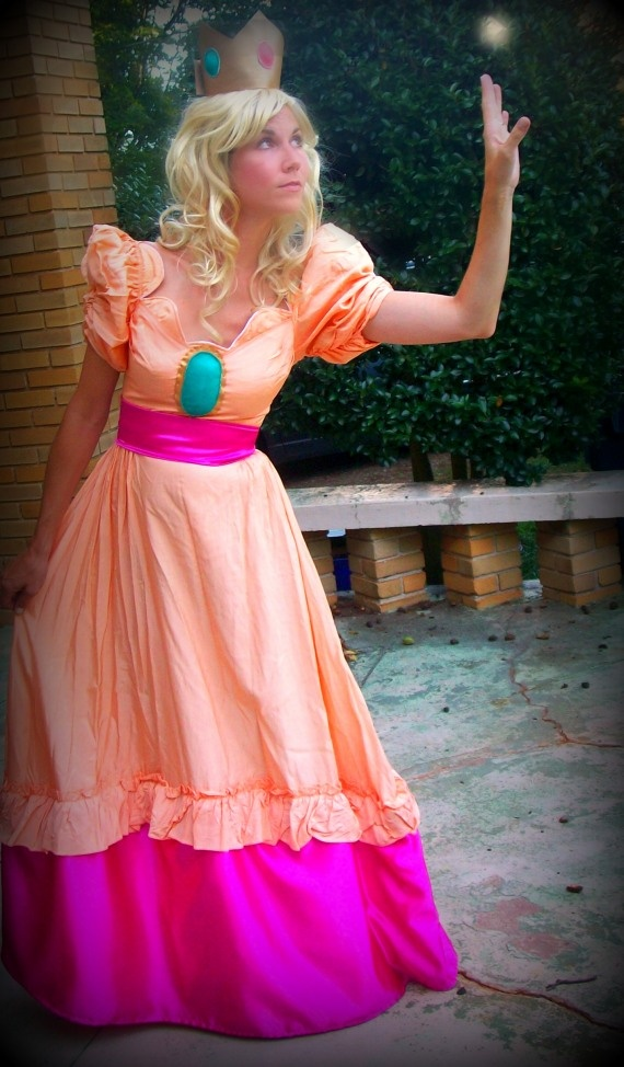 Miala's Princess Peach costume