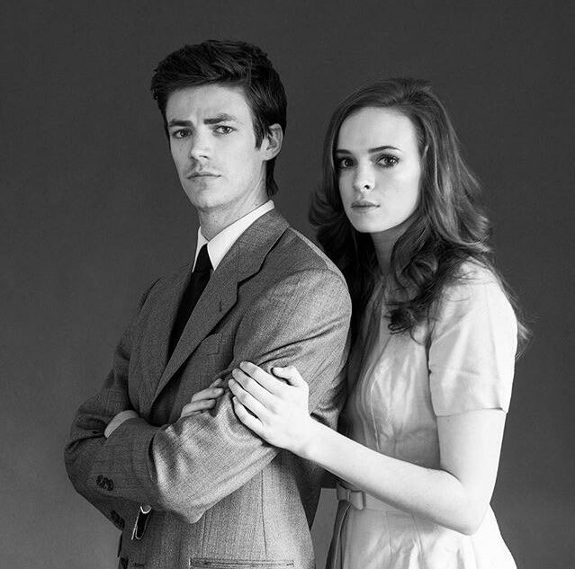 Grant Gustin and Danielle Panabaker, Tyler Shields photoshoot #Snowbarry #TheFash #Granielle