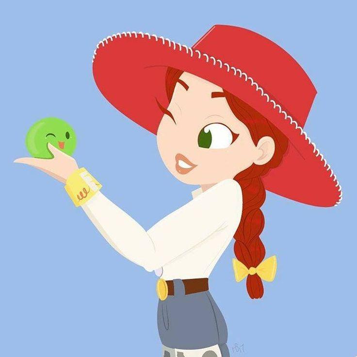 Jessie (Toy Story 2) Art by The Art of Hollie Ballard