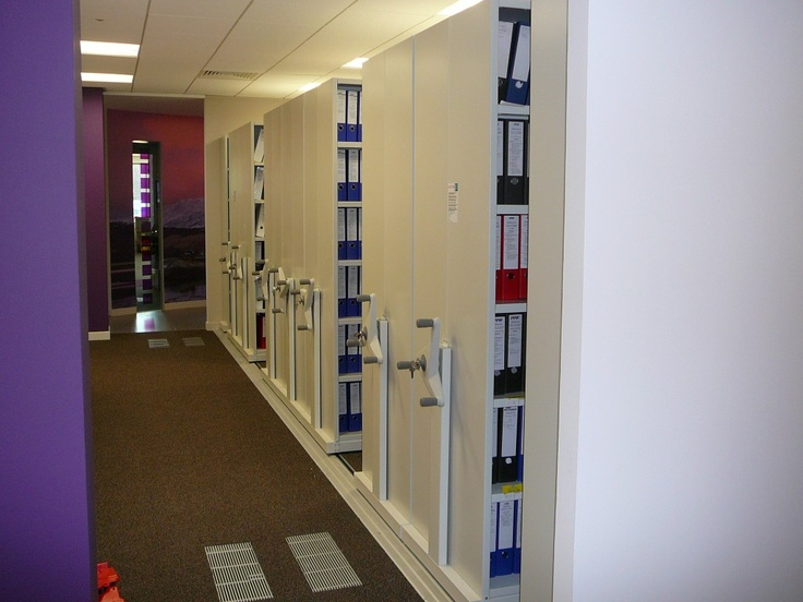Flexistor provides secure mobile storage with lockable shelving available to secure confidential data. http://www.compactstorage.co.uk/mobile-shelving/flexstor/