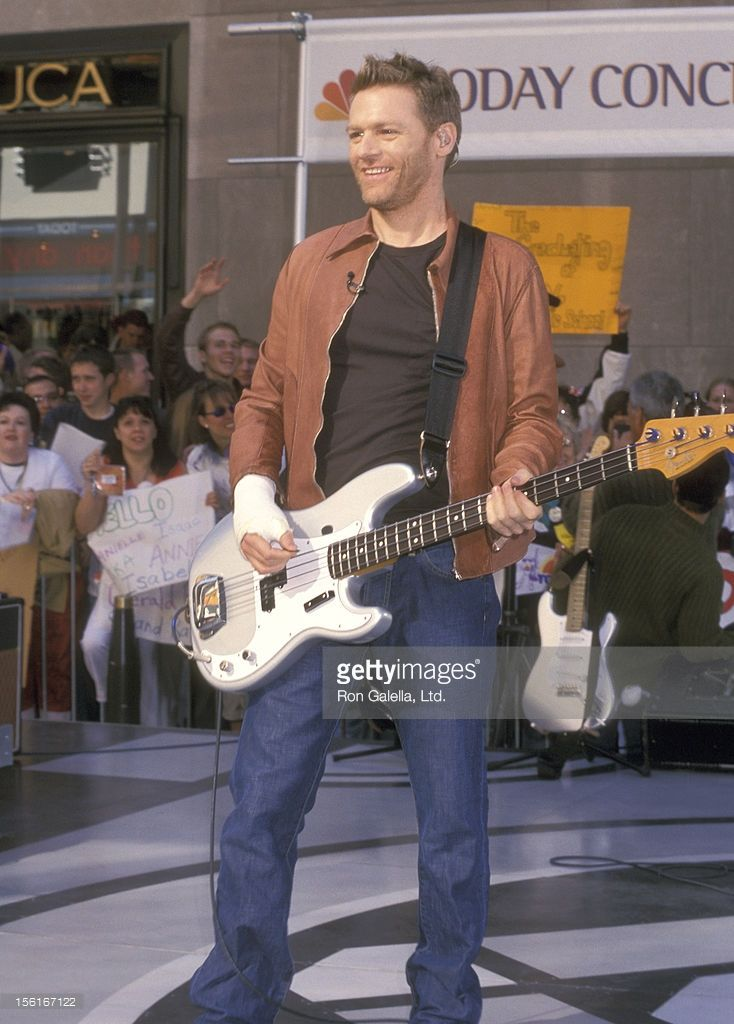 Musician Bryan Adams performs at taping of 'The Today Show' Concert Series: Bryan Adams in Concert on May 24, 2002 at Rockefeller Plaza in New York City.