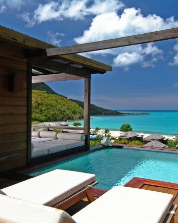 Pool pool poolDreams, The Ocean, Places I D, House, Vacations, Honeymoons Destinations, Awesome Pools, Hermitage Bays, Pools Pools