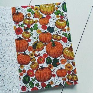 Het derde enige echte kleurboek voor volwassenen: pompoenen