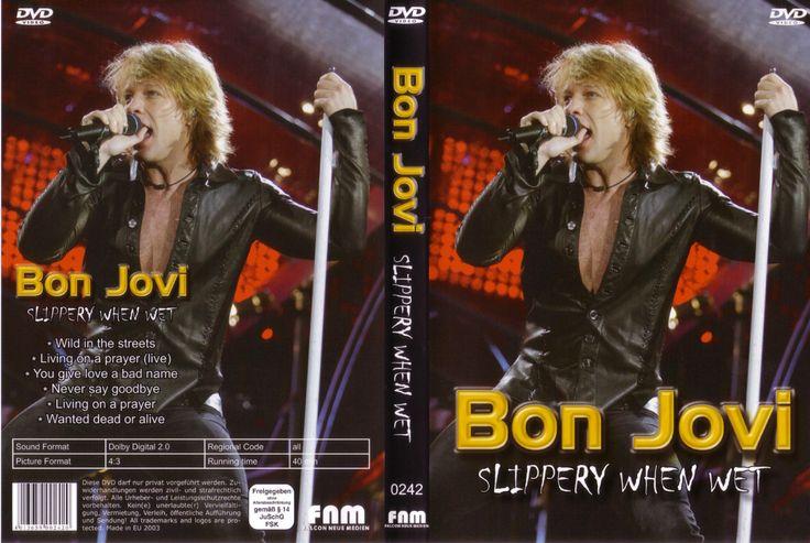 Full DVD The Bon jovi Slippery When Wet