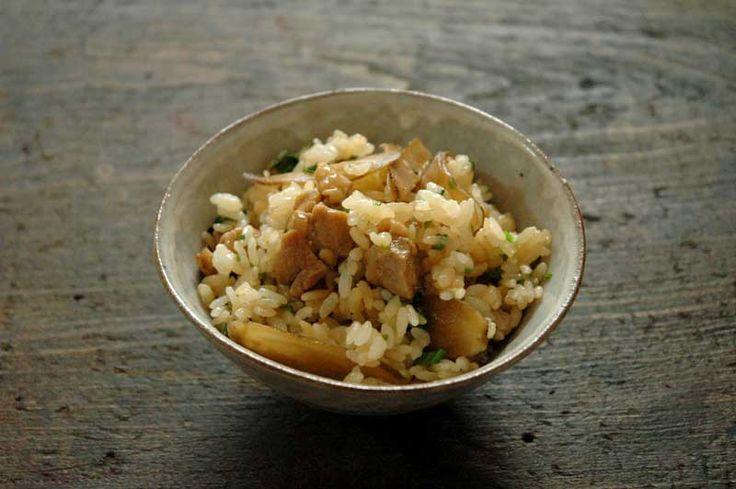 鶏ごぼうの混ぜご飯のレシピ/作り方:白ごはん.com