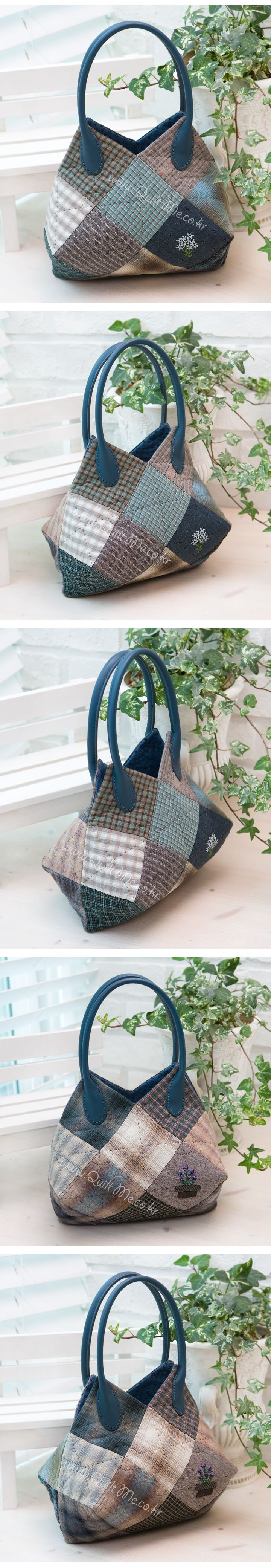 quilt bag - I love this one, site is in korean but the pics give me an idea of how its made. :)