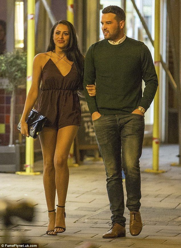 Ricky Rayment and Marnie Simpson enjoy a passionate date - Celebrity Fashion Trends